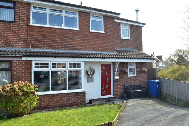 4 Bedrooms Semi Detached House for sale in Merton Road, Highfield, Wigan, WN3 6AQ