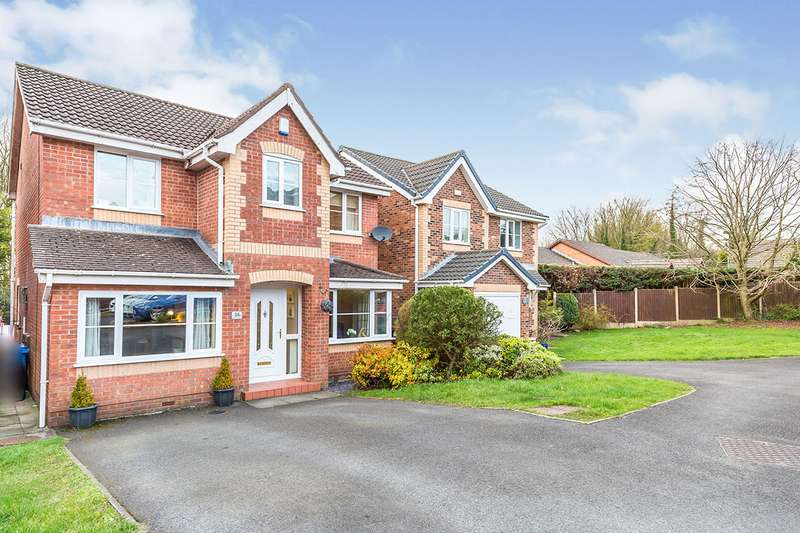 4 Bedrooms Detached House for sale in Lostock Meadow, Clayton-le-Woods, Chorley, Lancashire, PR6
