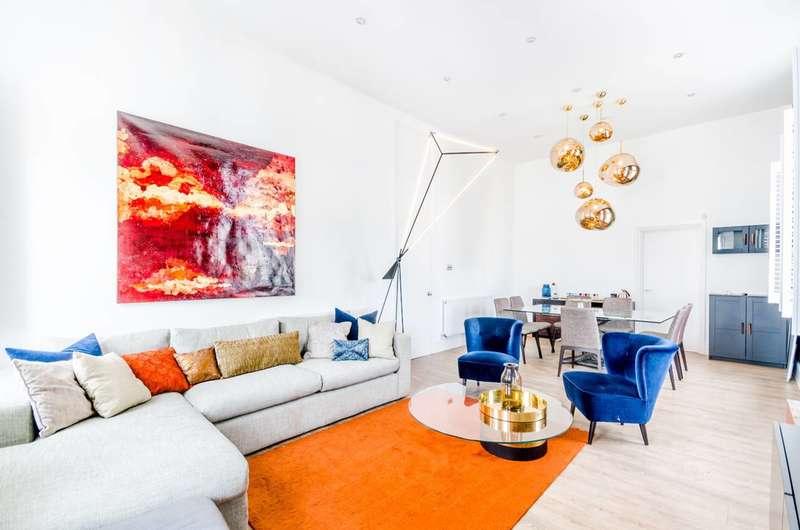 3 Bedrooms Flat for sale in Bolsover Street, Marylebone, W1W