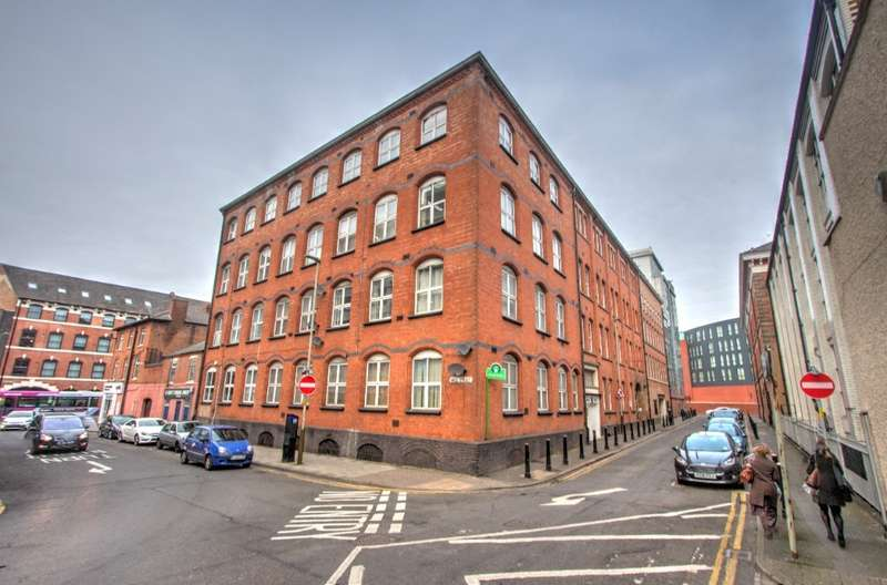 2 Bedrooms Flat for sale in Duke Street, Leicester, LE1