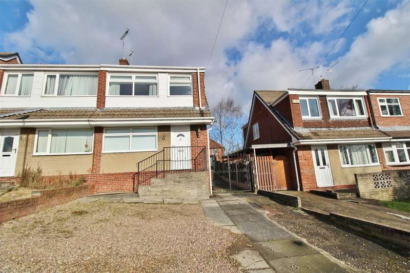 3 Bedrooms Semi Detached House for sale in Drover Close, High Green, SHEFFIELD, South Yorkshire