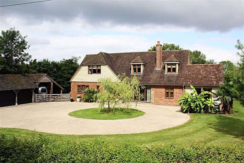 5 Bedrooms Detached House for sale in Marsworth, Tring