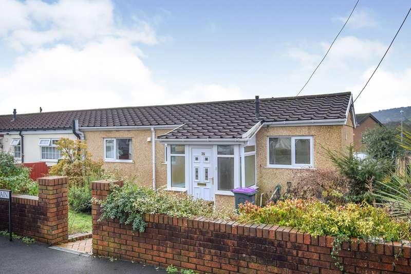 2 Bedrooms Semi Detached Bungalow for sale in Clairwain, New Inn, Pontypool, NP4