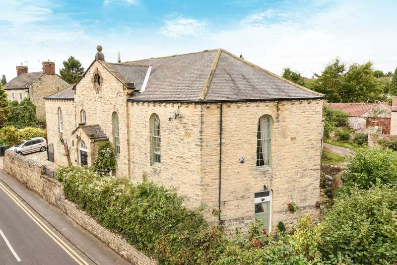 4 Bedrooms Semi Detached House for sale in The Old Chapel, Water Lane, Monk Fryston, Leeds, LS25 5DZ