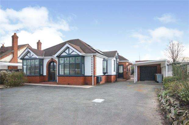 3 Bedrooms Detached Bungalow for sale in Congleton Road, Sandbach, Cheshire