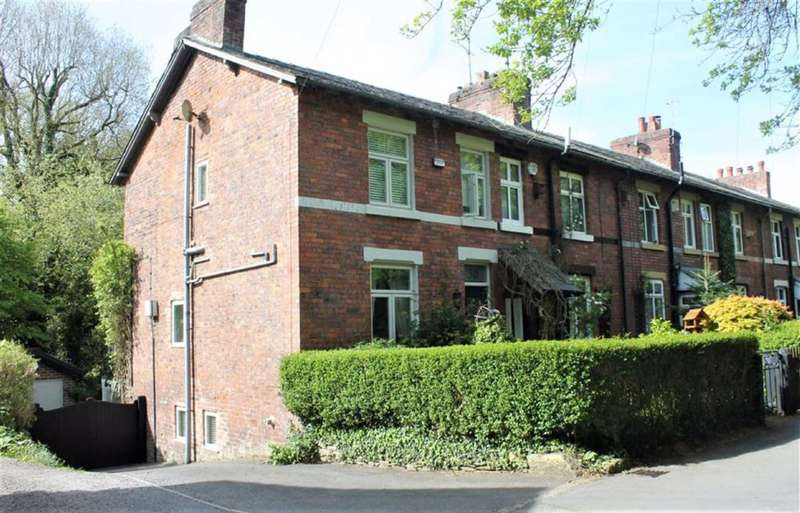 2 Bedrooms Cottage House for sale in Chadkirk Road, Romiley, Stockport