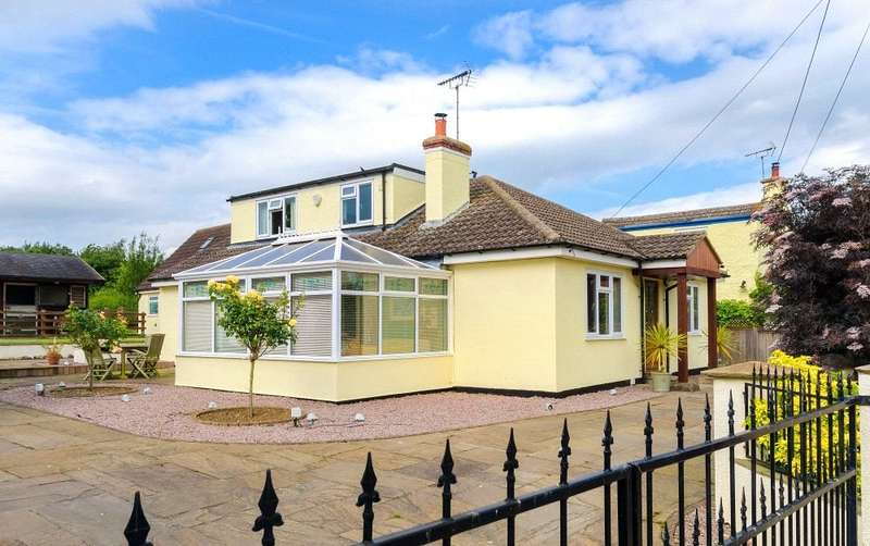 4 Bedrooms Detached Bungalow for sale in Chapel Street, Haconby, Lincolnshire, PE10