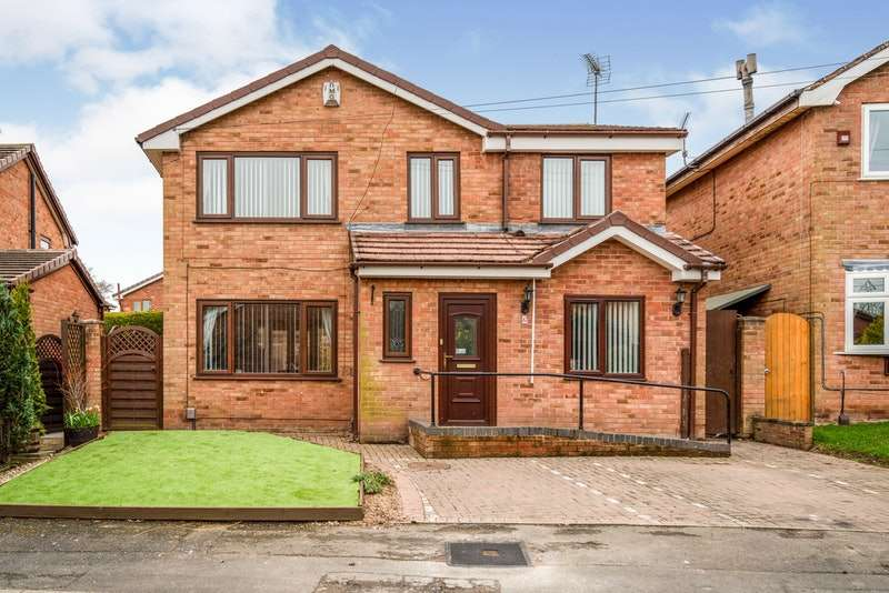 4 Bedrooms Detached House for sale in Red Pike, Little Sutton, Cheshire, CH66