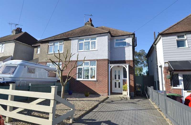 3 Bedrooms Semi Detached House for sale in Douglas Avenue, Whitstable