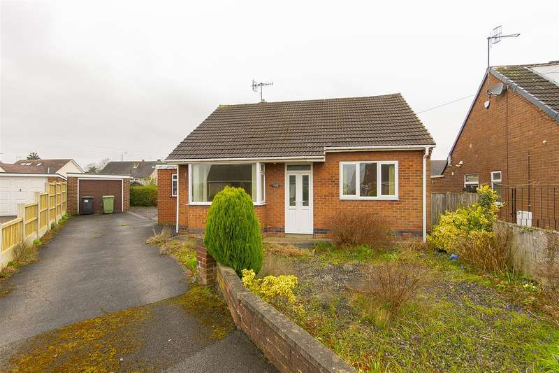 2 Bedrooms Detached Bungalow for sale in Brandene Close, Calow, Chesterfield