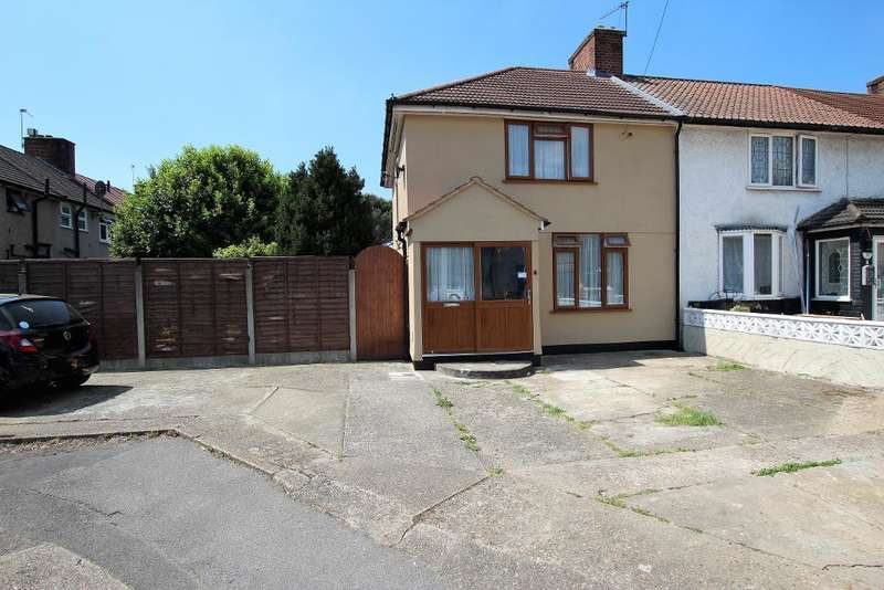 3 Bedrooms End Of Terrace House for sale in Rugby Road, Dagenham, Essex, RM9 4AH