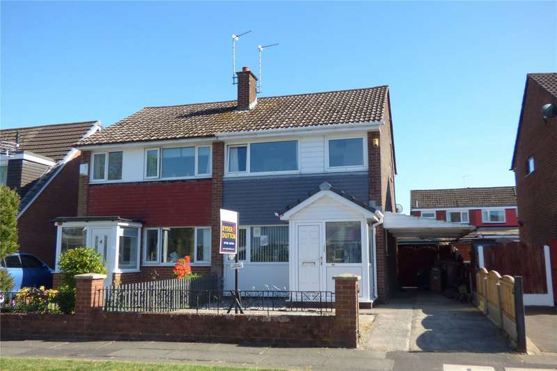 3 Bedrooms Semi Detached House for sale in Higher Lomax Lane, Summit, Heywood, Greater Manchester, OL10