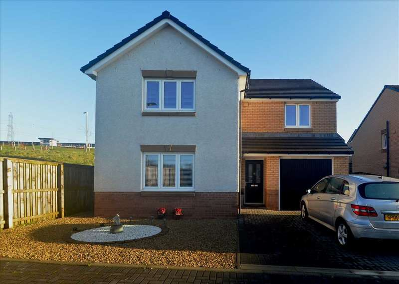 4 Bedrooms Detached House for sale in Dirleton Court, Motherwell