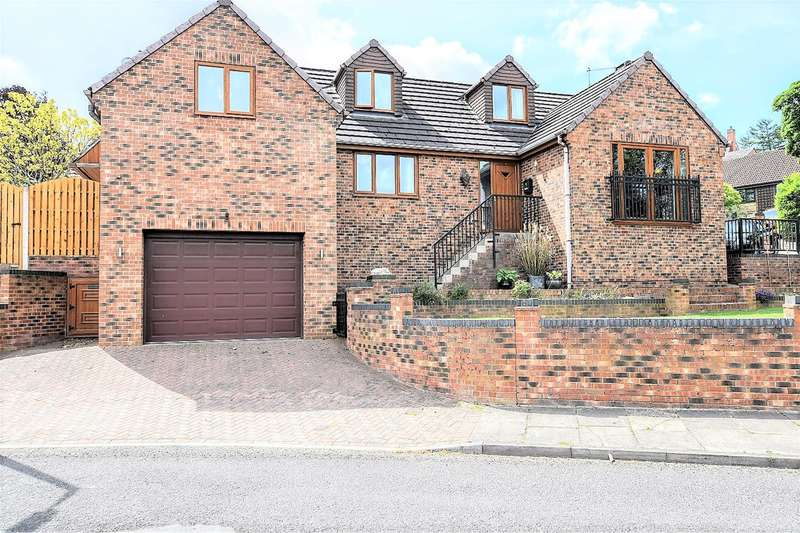 4 Bedrooms Detached House for sale in Treecrest Rise, Barnsley, S75 1EB