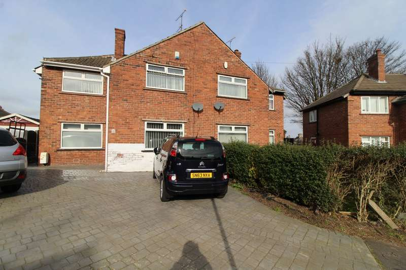 3 Bedrooms Semi Detached House for sale in Far Place, East Dene, Rotherham, South Yorkshire, S65