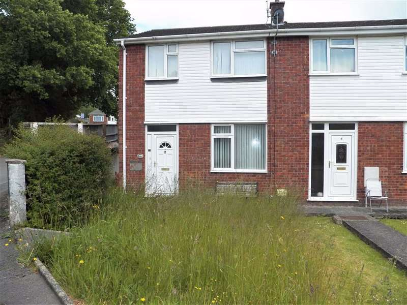 2 Bedrooms End Of Terrace House for sale in Isgraig, Burry Port