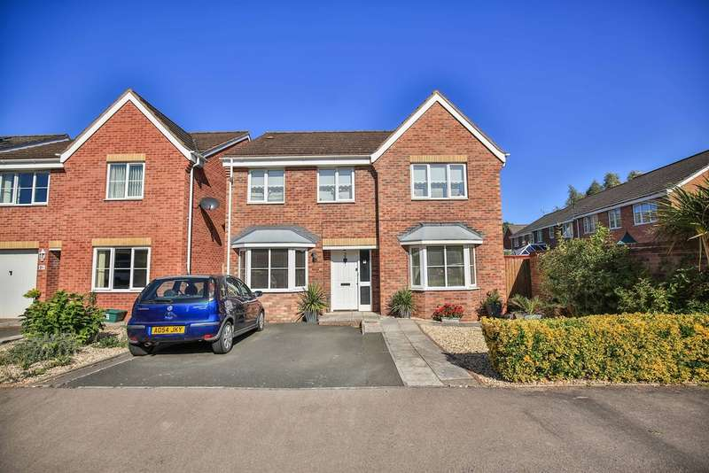5 Bedrooms Detached House for sale in Willow Drive, Monmouth
