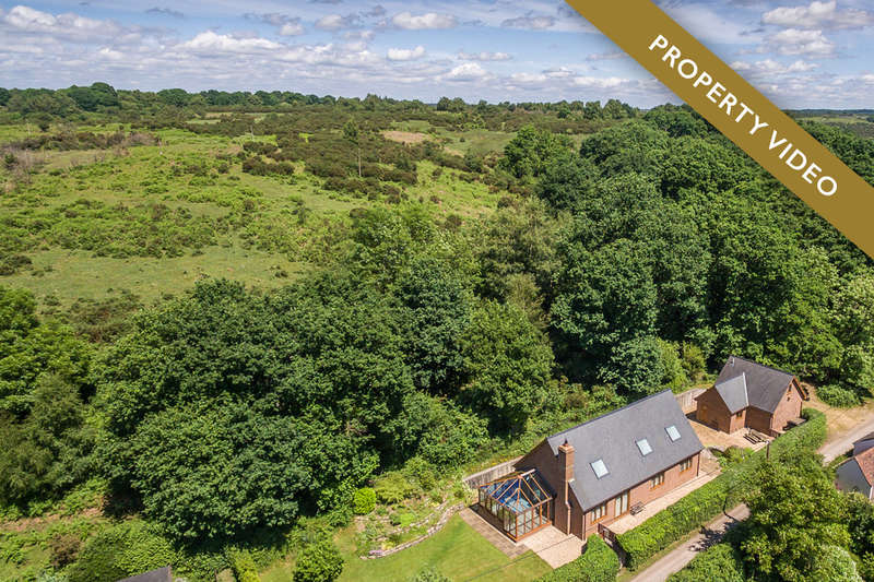 5 Bedrooms Chalet House for sale in Newgrounds, Godshill, New Forest