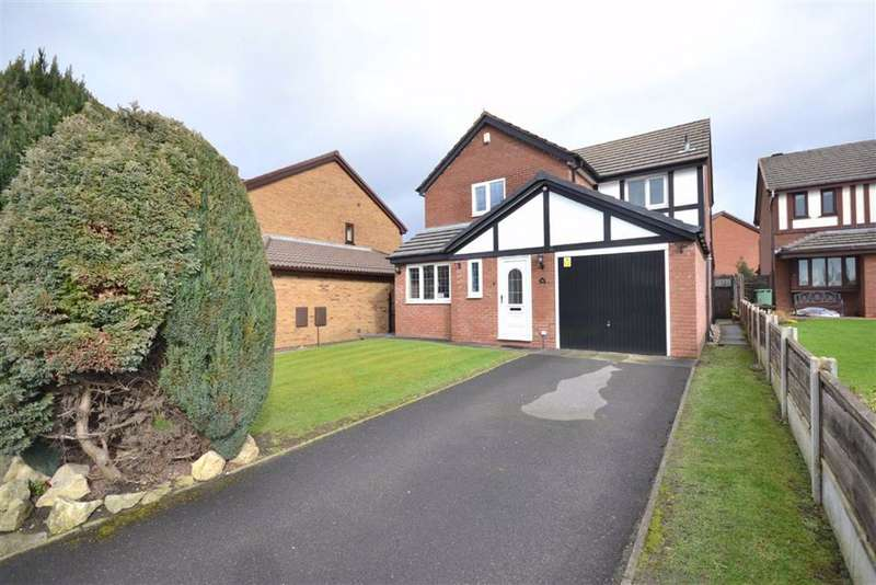 4 Bedrooms Detached House for sale in Burghley Drive, Radcliffe, Manchester, M26