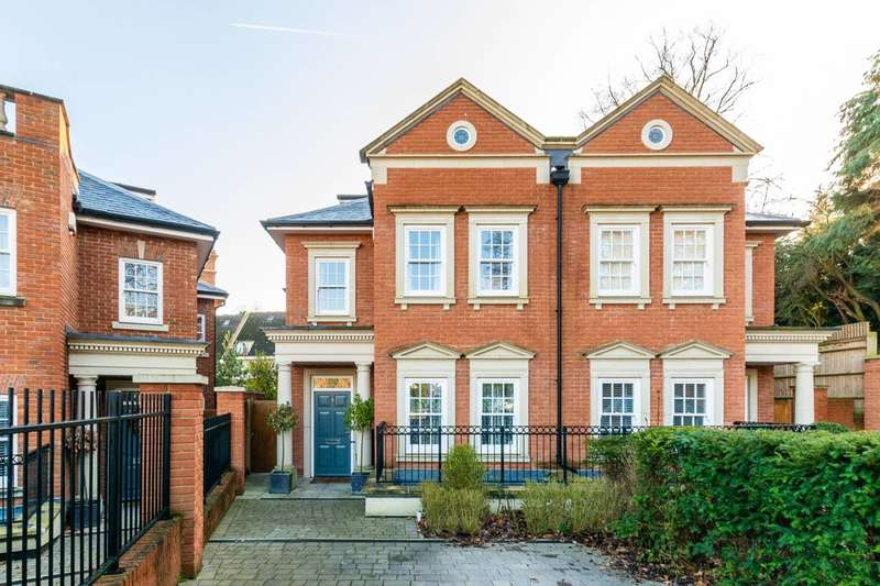 5 Bedrooms Semi Detached House for sale in Marryat Place, Wimbledon, SW19