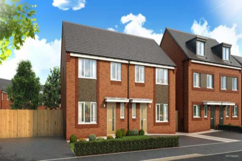 4 Bedrooms Semi Detached House for sale in Keepmoat Homes, Princess Drive, Liverpool, Merseyside, L14