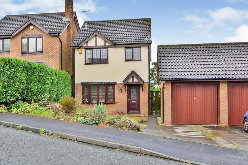 3 Bedrooms Detached House for sale in Clare Drive, Tytherington, Macclesfield, Cheshire, SK10