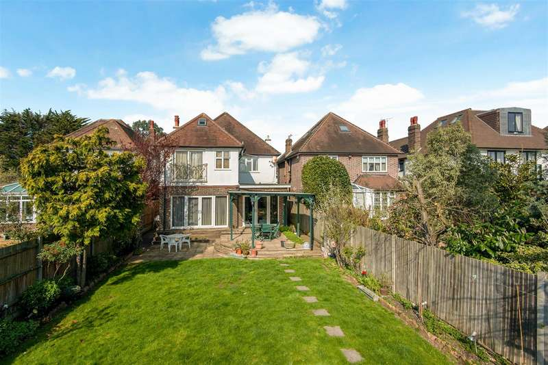 5 Bedrooms Detached House for sale in Coombe Gardens, West Wimbledon, SW20