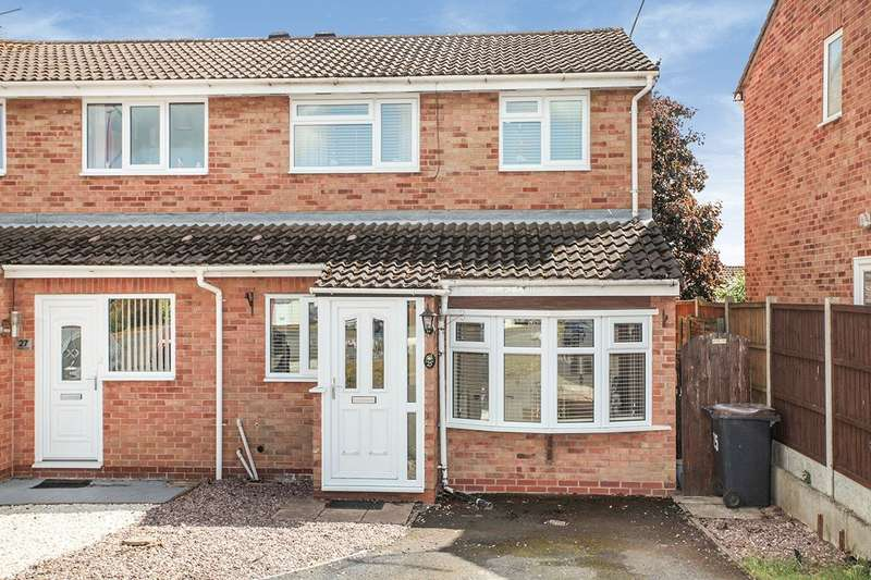 3 Bedrooms Semi Detached House for sale in Chesterton Drive, Galley Common, Nuneaton, Warwickshire, CV10