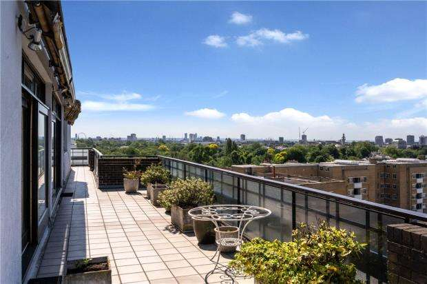 4 Bedrooms Penthouse Flat for sale in Avenue Road, London, NW8