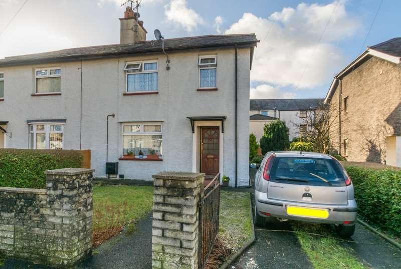 3 Bedrooms Semi Detached House for sale in Maes Y Dref, Bangor, Gwynedd, LL57