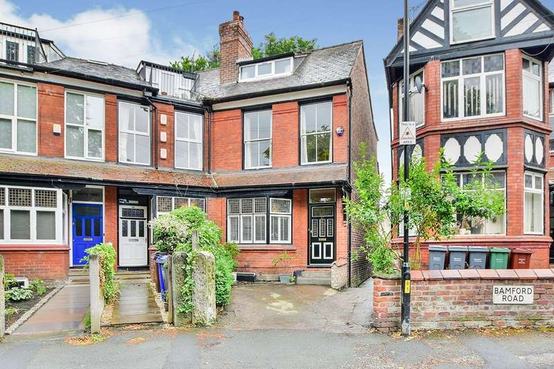 5 Bedrooms End Of Terrace House for sale in Claremont Grove, Didsbury, Greater Manchester, M20