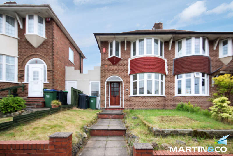 3 Bedrooms Semi Detached House for sale in Bristnall Hall Road, Oldbury, B68