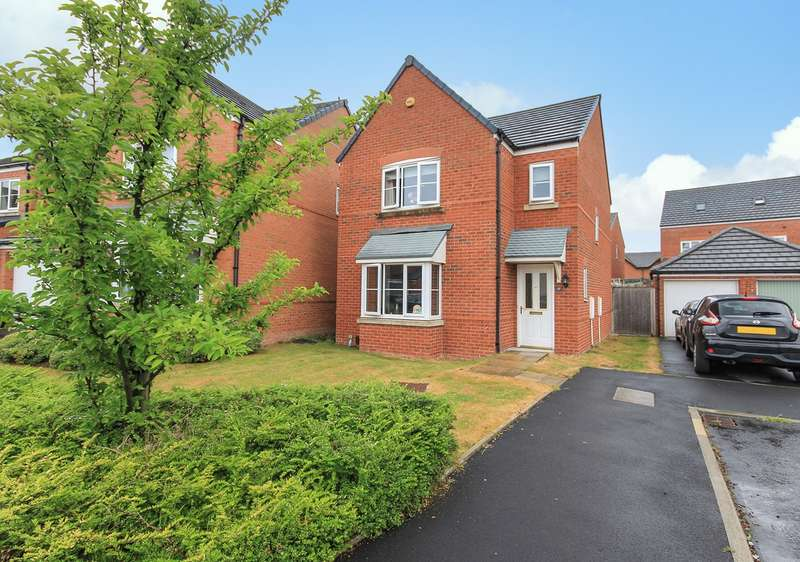3 Bedrooms Detached House for sale in Garston Crescent, Newton-le-Willows, WA12