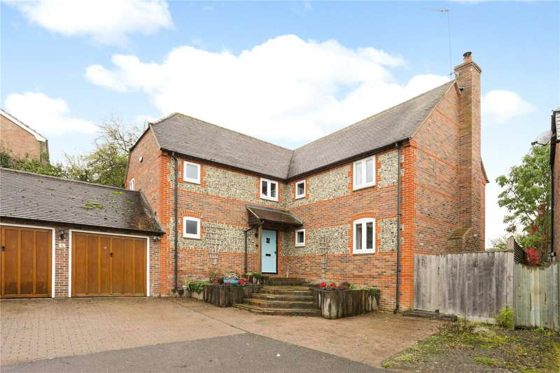 4 Bedrooms Detached House for sale in The Waldrons, East Garston, Hungerford, Berkshire, RG17