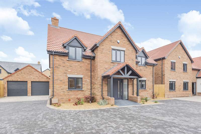 4 Bedrooms Detached House for sale in Hayfields, Greenfield Road, Flitton, MK45