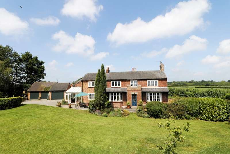 4 Bedrooms Detached House for sale in Hunts Lane, Netherseal