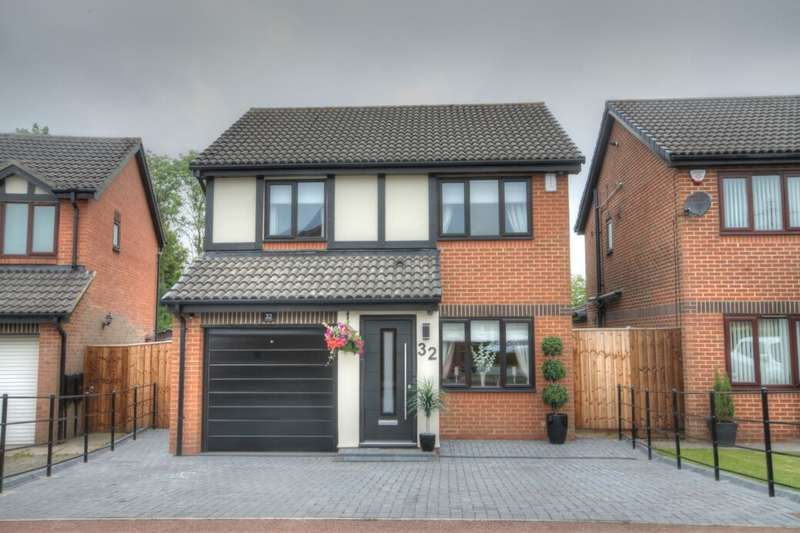 3 Bedrooms Detached House for sale in The Glade, North Walbottle, Newcastle Upon Tyne, NE15