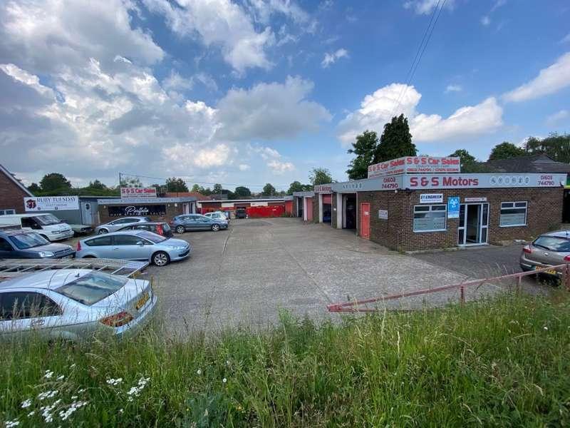 Commercial Property for sale in Oval Garage, Dereham Road, Norwich, Norfolk