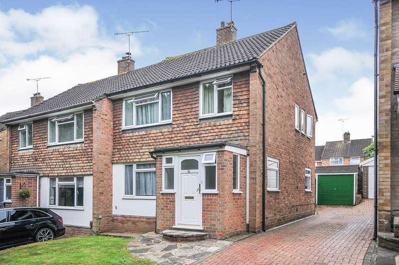 3 Bedrooms Semi Detached House for sale in St. Georges Road, Swanley, Kent, BR8