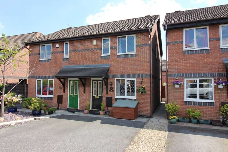 2 Bedrooms Semi Detached House for sale in Aviemore Close, Ramsbottom, Bury, BL0
