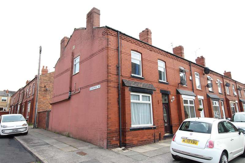 3 Bedrooms Terraced House for sale in Mort Street, Springfied, Wigan.