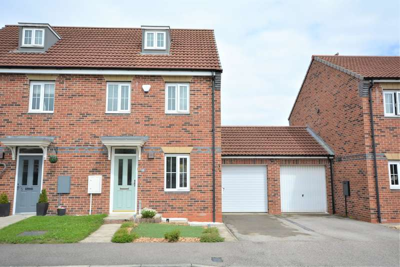 3 Bedrooms Semi Detached House for sale in Harewood Close, Spennymoor, DL16 7GL
