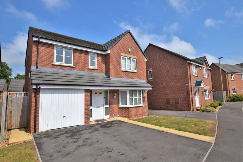 4 Bedrooms Detached House for sale in 7 Hough Way, Shifnal, Shropshire, TF11