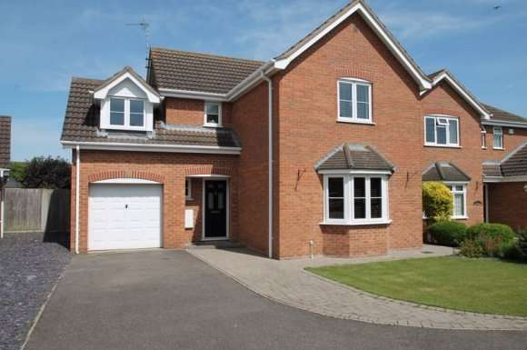 4 Bedrooms Detached House for sale in Percheron Drive, Spalding