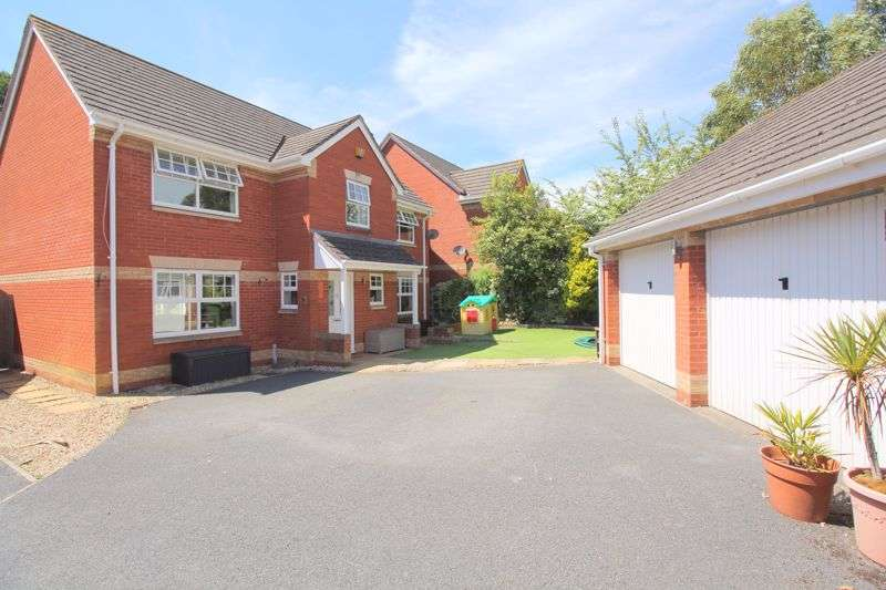 4 Bedrooms Detached House for sale in Clyst Heath, Exeter