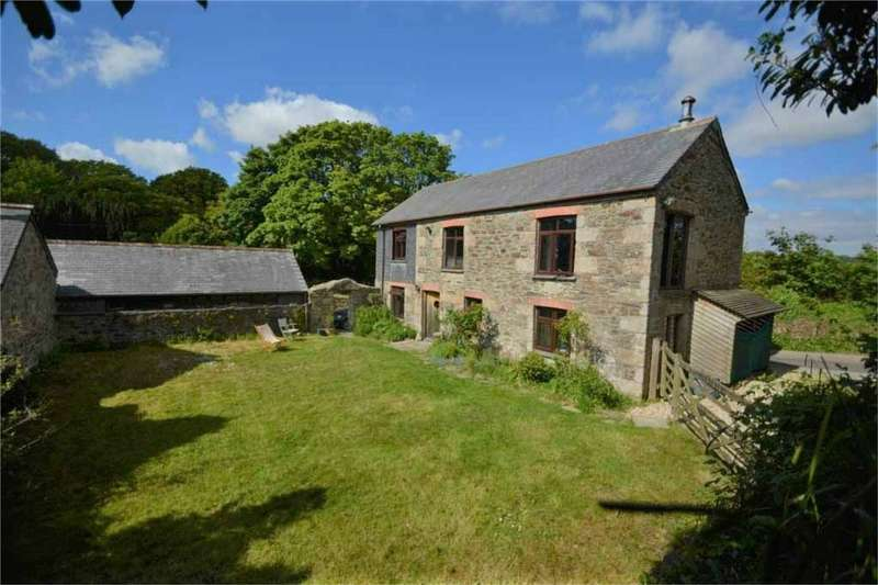 2 Bedrooms Barn Conversion Character Property for sale in Gwennap, REDRUTH, Cornwall