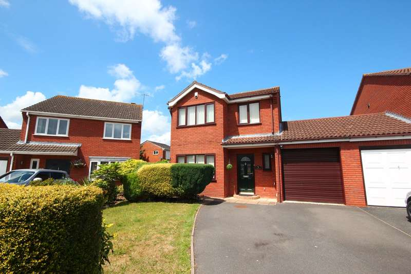 4 Bedrooms Link Detached House for sale in Osprey Close, Lower Wick, Worcester, WR2