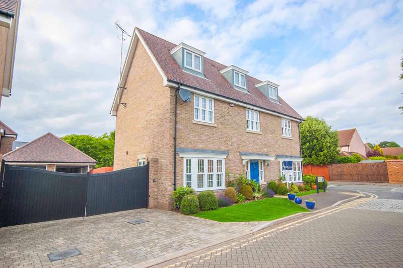 5 Bedrooms Detached House for sale in Pearson Grove, Nr City Centre/Old Springfield, Chelmsford, CM1