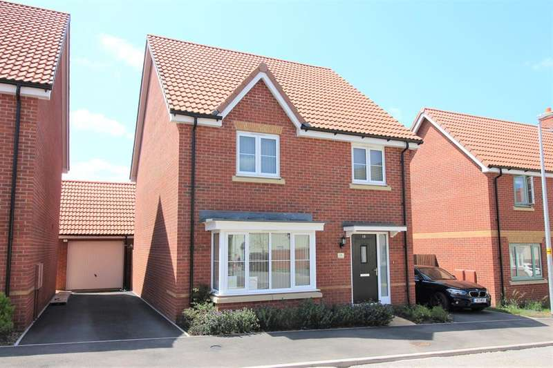 4 Bedrooms Detached House for sale in Red Admiral Way, Thornbury, BS35 1FH