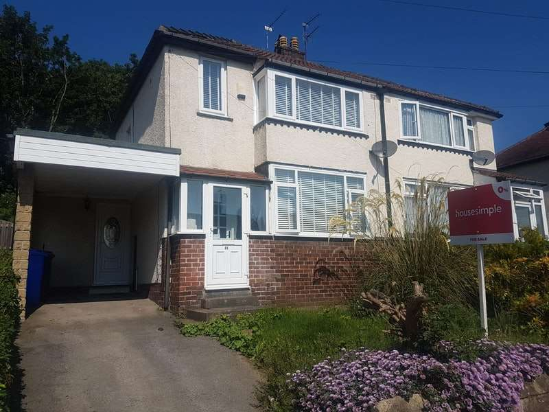 3 Bedrooms Semi Detached House for sale in Nether Crescent, Sheffield, South Yorkshire, S35